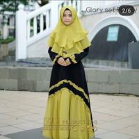 Glory Syari Kids Baju Muslim Gamis Anak Perempuan Usia 9-12 tahun