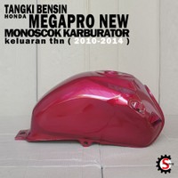 Tangki Bensin MegaPro New MonoShock 2010, Merah, Biru, Putih, Tebal