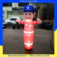 BALON SKY DANCER DENGAN LAMPU  INCLUDE BLOWER 13 INCH 2METER