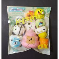 Squishy Paket 10pcs RANDOM TYPE FREE PACKAGING!!!
