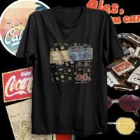 Baju Kaos Retro 90an Distro Quality Bergambar Pria Tshirt Jadul Trendy