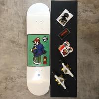 Skateboard fullset Fellow Bro series with Big trucks 8.0