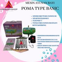 Mesin ayun elektrik POMA type Basic (new release POLAR)
