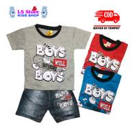 Baju Setelan Anak Laki Laki Murah Umur 2 - 10 Tahun / Stelan Anak Cowo