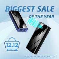 Jims Honey JHZ05 - Powerbank 10.000mAh Real Capacity Fast Charging