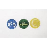Sticker Seal   packaging   label   kardus   logo   branding   lebaran