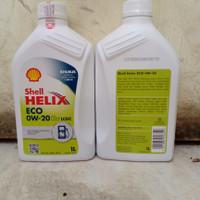 Oli Mesin Shell Helix Eco 0W-20 @1 Liter
