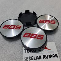 dop velg racing variasi diameter 6.8cm BBS MERAH