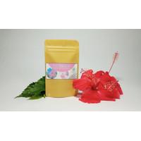 Teh Kecantikan dan kesehatan, bunga sepatu, manfaat cek di dsikripsi