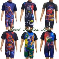 Baju Renang Anak Laki Laki Karakter 3-8 Tahun
