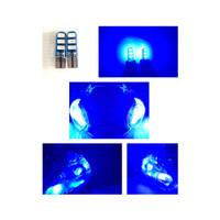 Lampu Sen Sein Jelly Diam Senja 6 Led T10 1 Pasang - Biru