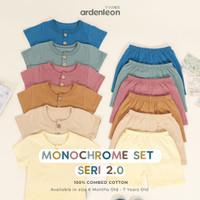 Baju Setelan Kaos Celana Pendek Rumah Casual Anak Cowok Cewek UN2107