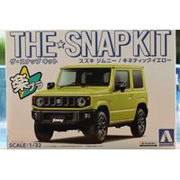Model kit Aoshima 1/32 Suzuki Jimny snap kit
