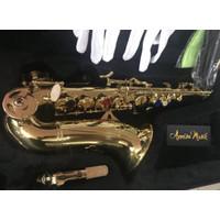 Baby saxophone Ostrava Gold Laquer tipe LER 909