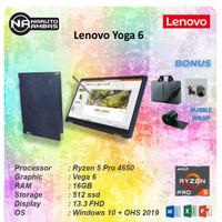 Lenovo Yoga 6 13 2in1 Touch FABRIC Ryzen 5 Pro 4650 16GB 512ssd Vega6