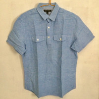 Banana Republic Polo Shirt blue original