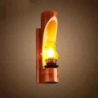 lampu hias bambu unik