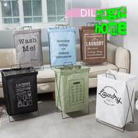 Laundry bag besi Keranjang baju pakaian kotor waterproof 699