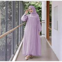 Gamis Wanita Terbaru / Dress Pesta Renda Import / Baju Muslim