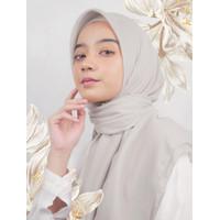 Kerudung Segi Empat Voal Premium by Radha Scarf - Putih