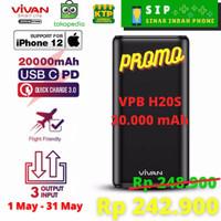 Powerbank Vivan 20000 mAh VPB H20S 25W fast charging