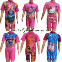 Baju Renang Anak Perempuan Karakter 3-7 Tahun - M 3-4 Tahun, TINKER BELL