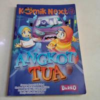 komik next G Angkot Tua ori bekas
