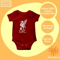 Romper baju jersey bola bayi newborn 0 6 bulan cewek cowok liverpool