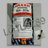 BAN LUAR BAN MOTOR MAXXIS DIAMOND 70/90-14 TUBELESS