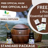 PAKET DIFFUSER NATURAL PREMIUM BASIC Humidifer Aroma Terapi Difuser
