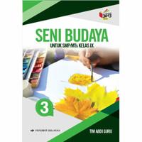 Seni Budaya SMP Kelas 9 - Buku Erlangga Original