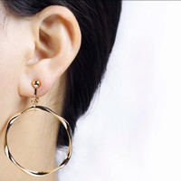 Circle Clip Earing / Anting jepit hoop tanpa tindikan / no pierced