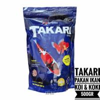pakan pelet makanan ikan hias Takari large 500gr 5mm fish food floatin