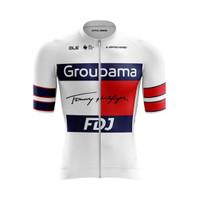 Jersey Roadbike Team Groupama FDJ Baju Sepeda