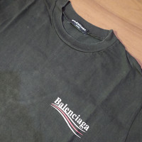 Balenciaga Campaign Logo Tshirt