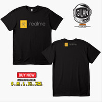 Kaos Baju Handphone Realme Logo 2019 Kaos Gadget - Karimake
