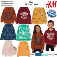 Baju Sweater Anak Laki Laki Perempuan Hoodie HnM HM Original Branded 1
