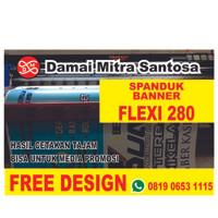 Cetak Spanduk / Print Banner / Baliho Murah Flexi 280