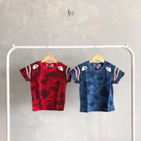 Littledrew - A015 Baju Kaos Anak Bape High QualityPremium