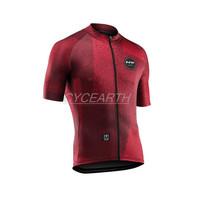 Jersey Roadbike Northwave Maroon Red Baju Sepeda