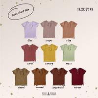 SHORT KIMI TOP (Kaos Anak)