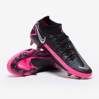 Sepatu Bola Nike Phantom GT Elite DF FG Black Pink CW6589-006 Original