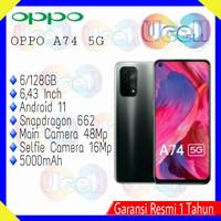 Oppo A74 5G - 6/128GB - Garansi Resmi OPPO