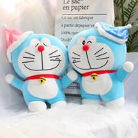 Balmut Bantal Selimut Doraemon Bahan Plush
