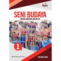 Seni Budaya SMP Kelas 7 - Buku Erlangga Original