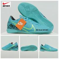 Komponen Ori Sepatu Futsal Nike Mercurial Terbaru Kualitas Grad Ori - Hitam, 39