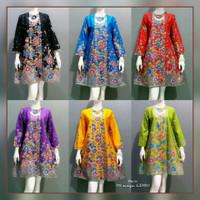 Dress Batik Wanita Modern .Atasan Batik Wanita Hamil Baju Hamil