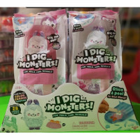 sale mainan: I dig Monsters Slice & Peel Color Change Ice Cream Monji