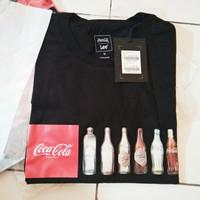 Kaos T-shirt Coke by LEE Original Resmi Store Black Hitam