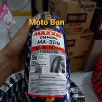 BAN MOTOR MATIC MAXXIS DIAMOND MA-3DN 80/90-R14. TUBELESS. FREE PENTIL
